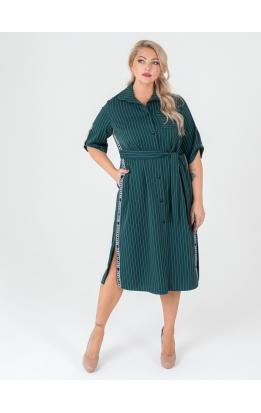 платье Тринити (зелёный)