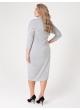 платье Лучано Блеск (светло-серый)