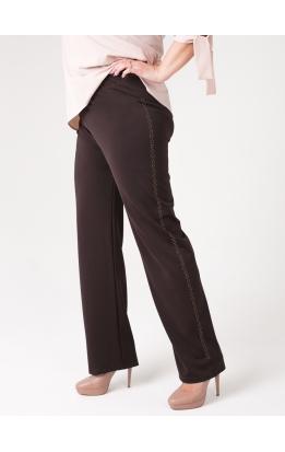 брюки Джей Стразы (коричневый)