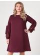 платье Милан2 (бордовый)