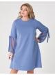 платье Милан2 (голубой)