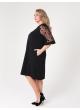 платье Барселона2 (чёрный/звёзды)