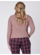 блуза Лонгслив (розово-бежевый)