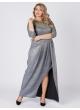 платье Ракел Блеск (серебро)