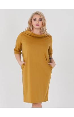 платье Стелла2 (горчица)