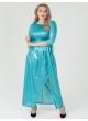 платье Ракел Бифлекс (бирюза)