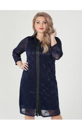 платье Ронда (тёмно-синий)