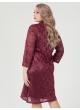 платье Ронда (бордо)