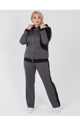 спортивный костюм Клайд (серый/чёрный)