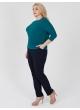 блуза Дженни (зелёный)