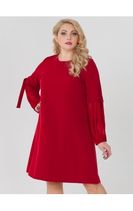 платье Милан2 (красный)