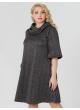 платье Берта2 (серый/полоска)