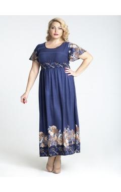 платье Кей (принт/ключики)