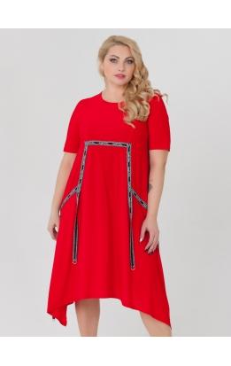 платье ЛуврЛето (красный)
