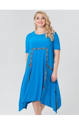 платье ЛуврЛето (бирюза)