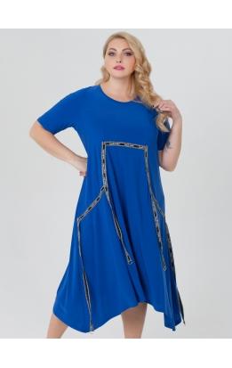 платье ЛуврЛето (электрик)