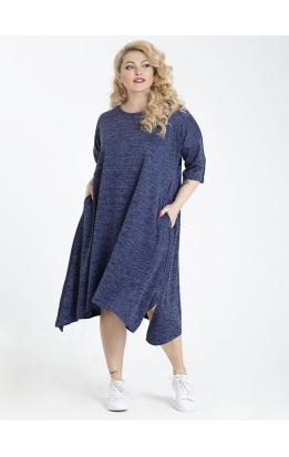 платье Роксана (синий)