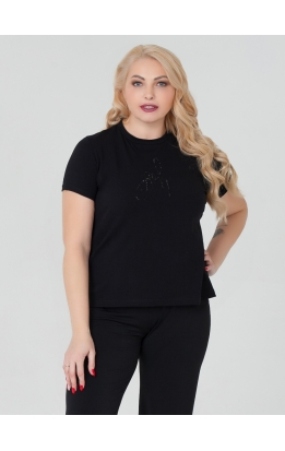 футболка ДжастинТ (черный)