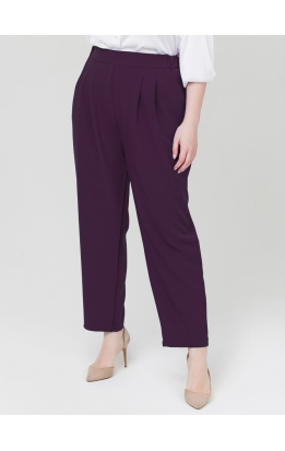 брюки Авеню (баклажан)