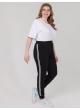 брюки Спорт (черный ч/б)