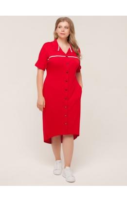 платье Зира (красный)