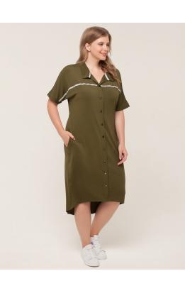 платье Зира (хаки)