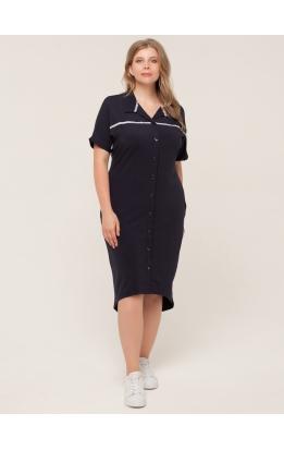 платье Зира (темно-синий)