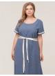 платье Миранда (синий)