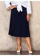 юбка Годе (темно-синий)