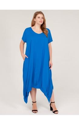платье Хьюстон (синий)