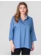 рубашка Бейз (голубой)