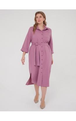 Платье-рубашка Прайм (сиреневый)