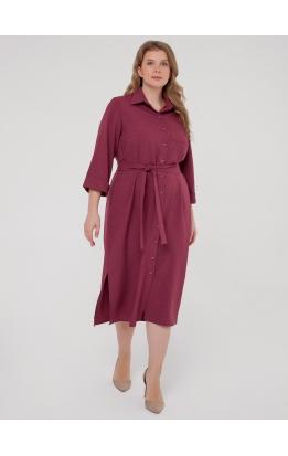 Платье-рубашка Прайм (фиолетовый)