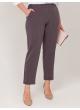 брюки Карла (серый/полоска)