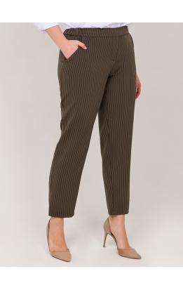 брюки Карла (хаки/полоса)