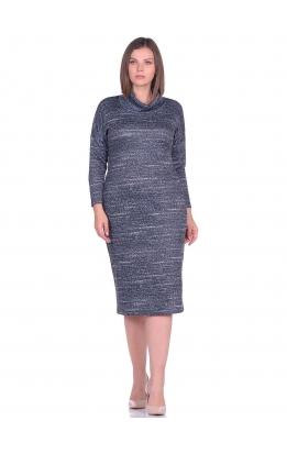 платье Лучано (синий/меланж)