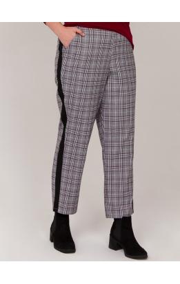 брюки Клетка (клетка/серый)