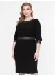 платье БлескМасло (черный/черный )