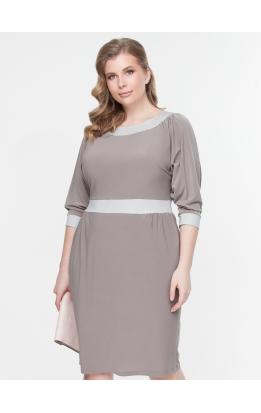 платье БлескМасло (серый/серый)
