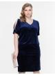 платье Кари (темно-синий)