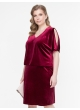 платье Кари (бордо)