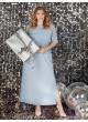 платье Глори (голубой)