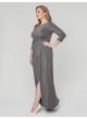 платье РоксБлеск (серый)