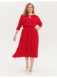 платье Софи2 (красный/мелк.гор)