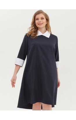 платье Монро (синий)