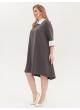 платье Монро (серый)