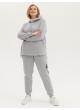 спортивный костюм Шэри (серый меланж)