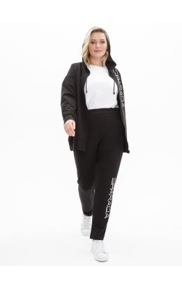спортивный костюм Люкс (черный)