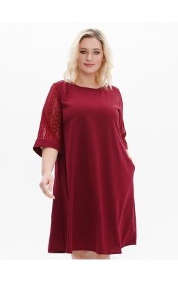 платье Барселона (бордовый)