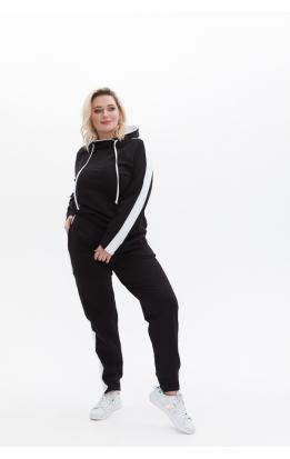 спортивный костюм Квинс (черно-белый)